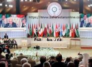 ترک ناگهانی امیر قطر از نشست سران اتحادیه های کشورهای عربی