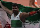 شکستن رکورد آسیا و ششمین طلای احسان حدادی در بازی های آسیایی