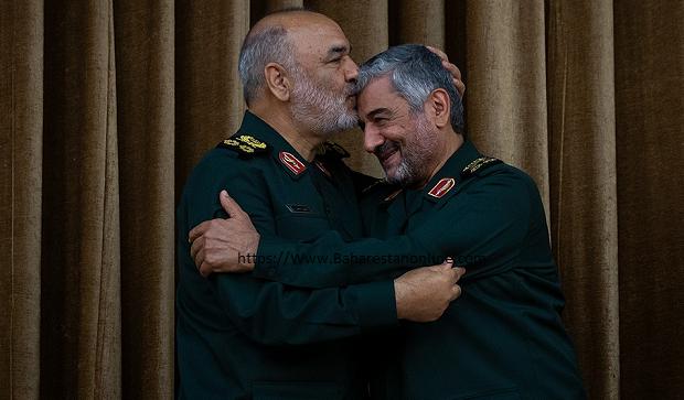 گزارش تصویری از مراسم تودیع و معارفه فرمانده کل سپاه پاسداران انقلاب اسلامی