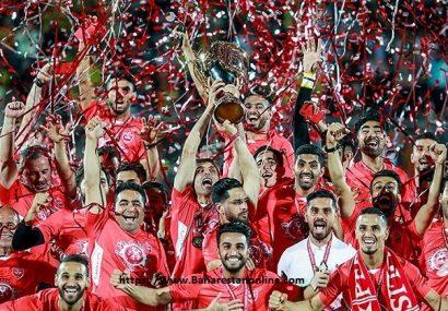 سومین قهرمانی پیاپی پرسپولیس در لیگ برتر