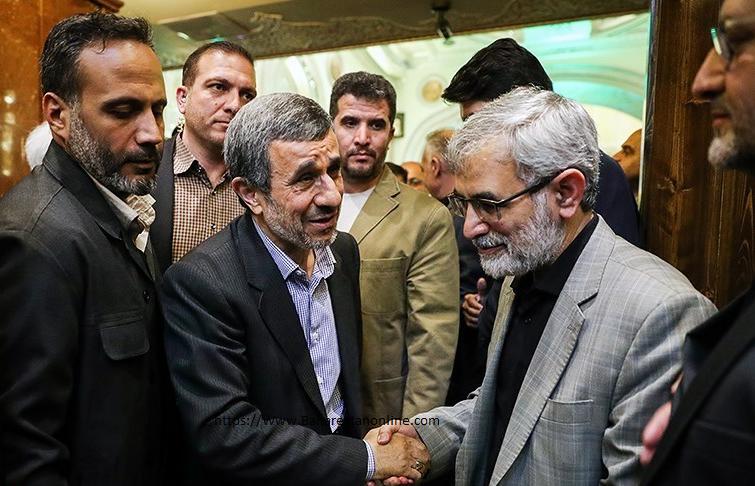 مراسم ختم برادر سخنگوی دولت احمدی نژاد
