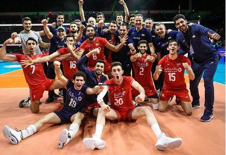 تیم ملی والیبال با چه تیم هایی در مرحله نهایی لیگ ملت ها هم گروه می شود ؟