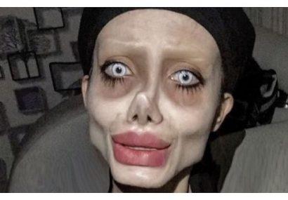 دستگیری مدل زامبی آنجلینا جولی در ایران
