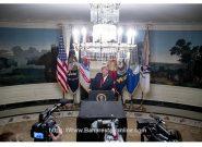 تشکر ترامپ از شرکای آمریکا که قبلا آنها را یک عده مفت خور نامیده بود ، امری غیر معمول بود