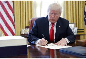 امضای فرمان اجرایی محدودیت «شبکههای اجتماعی»توسط ترامپ