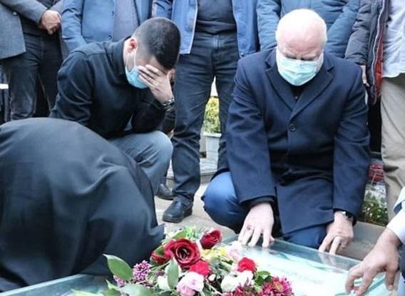 رئیس مجلس به مقام شامخ شهید سلیمانی ادای احترام کرد/ حضور قالیباف بر سر مزار حاج قاسم
