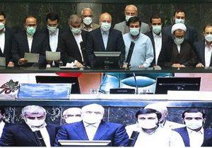دکتر قالیباف با ۲۳۰رأی رئیس مجلس ماند/ نیکزاد و مصری نوابرئیس شدند