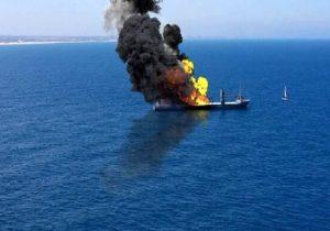 هدف قرار گرفتن کشتی رژیم صهیونیستی در شمال اقیانوس هند