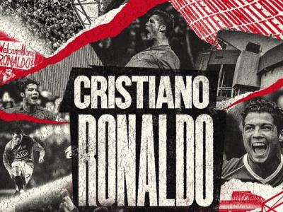 رونالدو ۲ ساله به منچستریونایتد پیوست