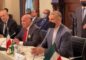 مداخله خارجی  مغایر با اهداف صلح و امنیت در منطقه است